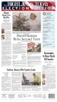 Highlands Today, published in Sebring, FLA - Talk about a slap in the ballot box. Looks like Sherriff Benton is the bigger story in this town.